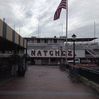 Photo taken at Steamboat Natchez by NuJoi on 7/7/2013