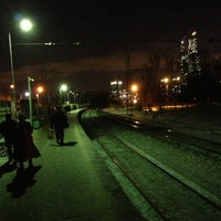 Photo taken at Ж/Д станция Фили by Andrey K. on 12/20/2012