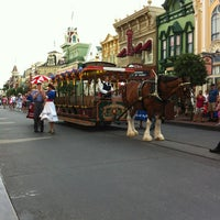 Photo taken at Main Street, U.S.A. by Mark M. on 7/28/2013