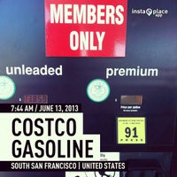 Photo taken at Costco Gasoline by Bernard E. on 6/13/2013
