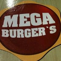 Photo taken at Mega Burger's by Kamilla B. on 10/21/2012