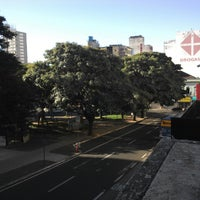 Photo taken at Praça Rui Barbosa by Leonardo M. on 7/27/2013