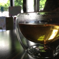 Photo taken at Tranquil Tea Lounge by Nathan N. on 4/4/2013