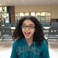 Photo taken at Poughkeepsie Galleria Mall Food Court by Anthony F. on 1/19/2013
