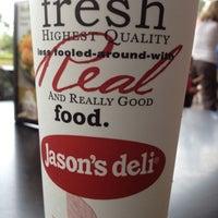 Photo taken at Jason's Deli by Saray P. on 10/14/2012