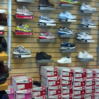 Photo taken at Hook's Shoes by Matt C. on 8/21/2013