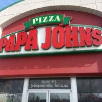 Photo taken at Papa John's Pizza by Michael M. on 2/28/2015