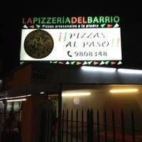 Das Foto wurde bei La Pizzería del Barrio von Felipe Z. am 12/1/2012 aufgenommen