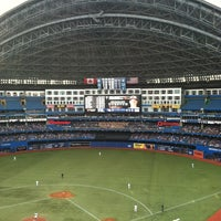 Photo taken at Rogers Centre by Matt B. on 6/21/2013