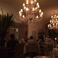 Photo taken at Il Palagio at Four Seasons Hotel Firenze by X M. on 10/7/2015