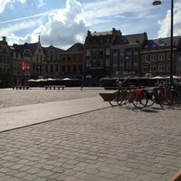 Photo taken at Grote Markt by Tom K. on 7/26/2013