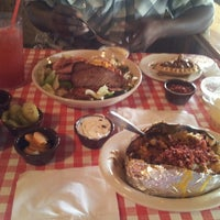 Photo taken at Pappas Bar-B-Q by Teresa V. on 6/2/2013