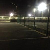 Photo taken at Marcel De Kerpelstadion by Joren V. on 11/15/2013