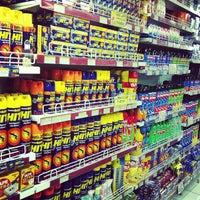 Photo taken at Delta Dewata Supermarket by Olga T. on 1/29/2013