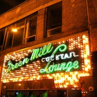 Photo taken at Green Mill Cocktail Lounge by Alex K. on 12/14/2012