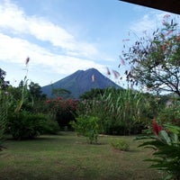 Photo taken at Volcano Lodge and Springs by ERik D. on 10/24/2012