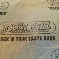 Photo taken at Rock'n Rollz Sandwich Co. by paul l. on 8/23/2013