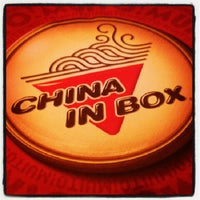 Photo taken at China in Box by Junior M. on 1/11/2013