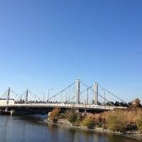 Photo taken at North Ave. Bridge by Gary B. on 10/21/2012