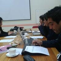 Photo taken at Facultad de Ciencias Empresariales by Fabian S. on 10/16/2012