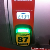 Photo taken at HEB Gas by Heidi T. on 12/8/2012