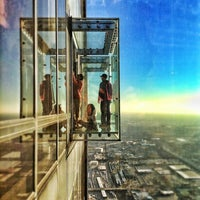 Photo taken at Willis Tower by Guillermo G. on 1/4/2013