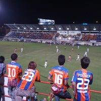 Photo taken at PAT Stadium by Thanagrit P. on 10/28/2012
