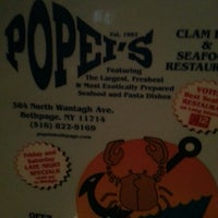 Photo taken at Popei's Clam Bar & Seafood Restaurant by Sarela L. on 1/5/2013