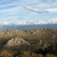 Photo taken at Alto del Fito by Elena L. on 3/31/2013