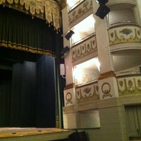 Photo taken at Teatro Accademico by Angelo T. on 11/6/2012