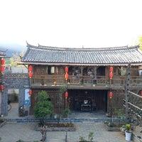 Photo taken at Baisha Holiday Resort LiJiang by Nisakorn K. on 4/12/2014