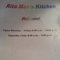 Photo taken at Rita Mae's Kitchen by Brock J. on 10/30/2013