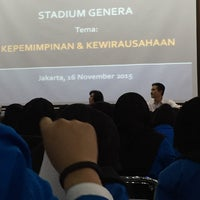 Photo taken at Fakultas Farmasi Universitas Pancasila by AIDIL F. on 11/16/2015