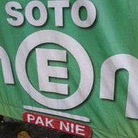 Photo taken at Soto Neon, Brumbungan,Semarang by Cypriana D. on 10/28/2012
