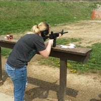 Photo taken at Pigeon Hill Target Range by Angelica M. on 4/26/2014