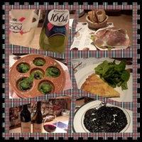 Photo taken at pasta&wine 勝どきMIKI by Strawberry on 2/23/2014