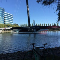 Photo taken at USA-71 BMW-Oracle Racing Boat by Michael O. on 6/1/2015
