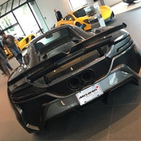 Photo taken at McLaren Auto Gallery Beverly Hills by Bong Ki K. on 1/11/2016