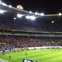 Photo taken at Estadio Jalisco by Juan Carlos on 12/28/2012