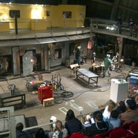 Photo taken at The Hot Shop at the Museum Of Glass by Maxwell D. on 11/10/2013