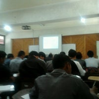 Photo taken at STMIK AKAKOM Yogyakarta by Ronny A. on 9/17/2012