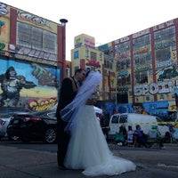 Photo taken at 5 Pointz by Justine S. on 10/12/2013