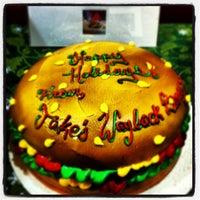 Photo taken at Jake's Wayback Burger by Brian H. on 12/18/2012