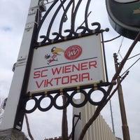 Photo taken at Sportclub Wiener Viktoria by Graham B. on 3/28/2015