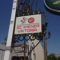 Photo taken at Sportclub Wiener Viktoria by Graham B. on 4/27/2014