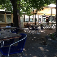 Photo taken at Donaurestaurant Kritzendorf by Graham B. on 7/25/2014