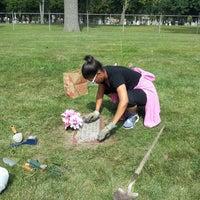 Photo taken at Elmwood Cemetery by Lotoya V. on 8/8/2013