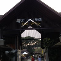 Photo taken at East Coast Lagoon Food Village by Princess S. on 11/1/2012