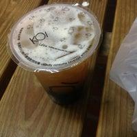 Photo taken at KOI Café by Princess S. on 11/13/2012