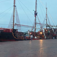 Photo taken at Embarcadero Marina Vallarta by Aleksandros m. on 1/31/2013